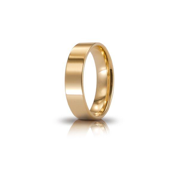 Fede Cerchi di Luce mm.5.0 in oro giallo