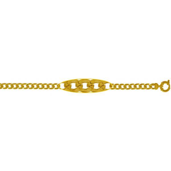 Bracciale in oro giallo