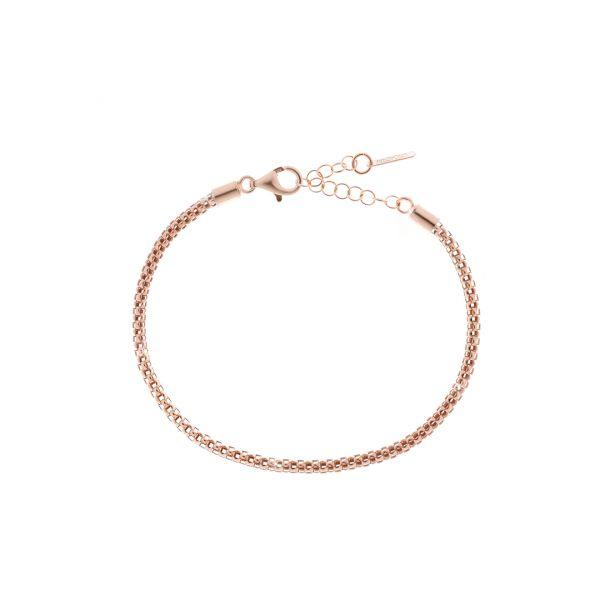 Red silver bracelets