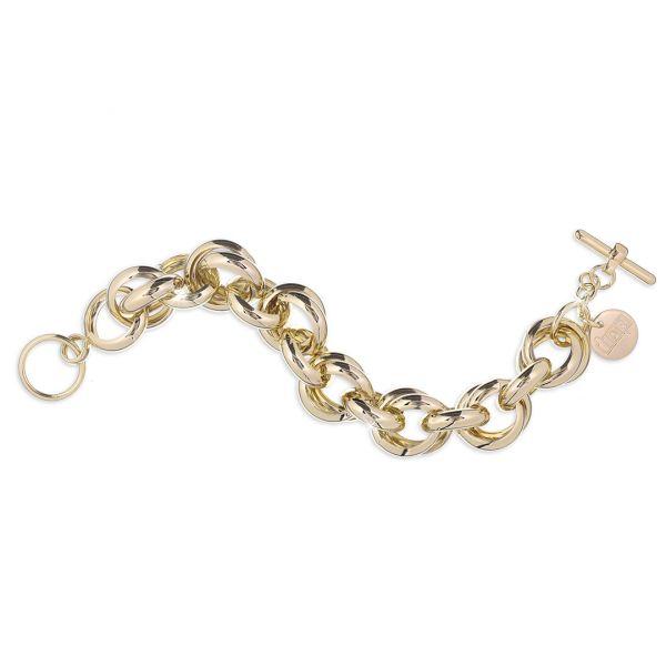 Yellow bronze bracelets
