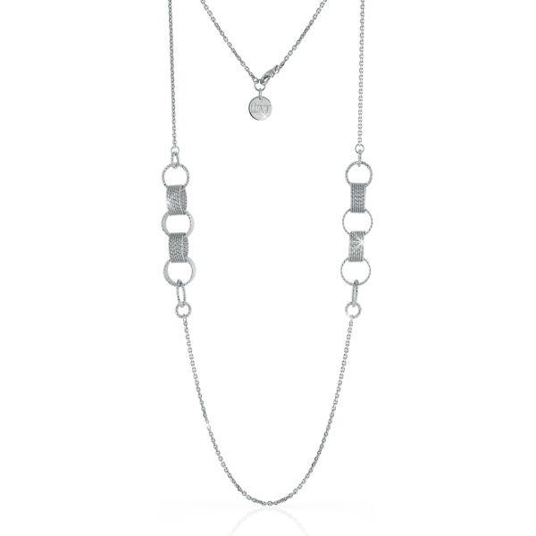 White bronze necklaces