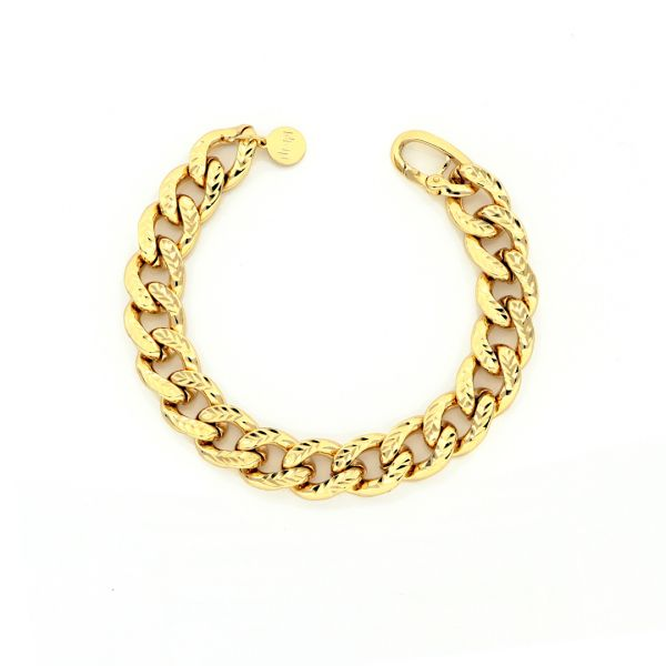 Yellow bronze bracelets