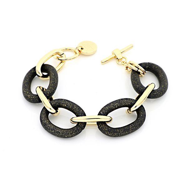 Yellow gold bronze bracelets