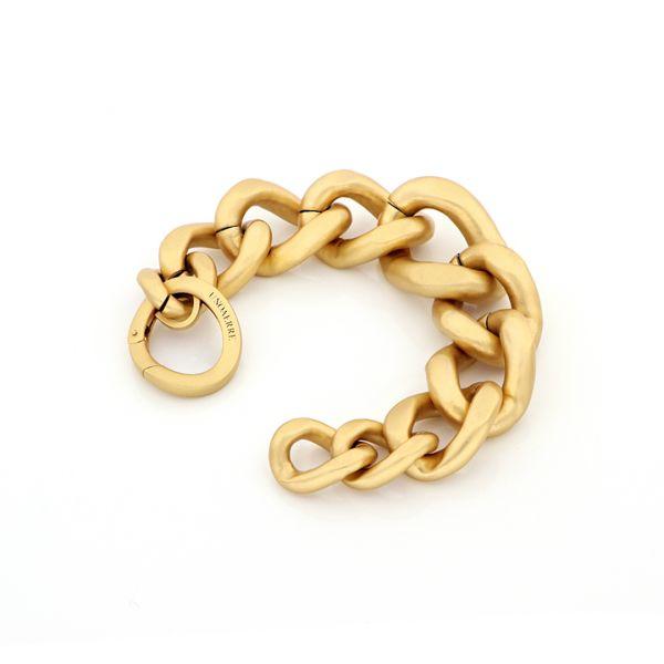 Yellow bronze Limited Groumette bracelet