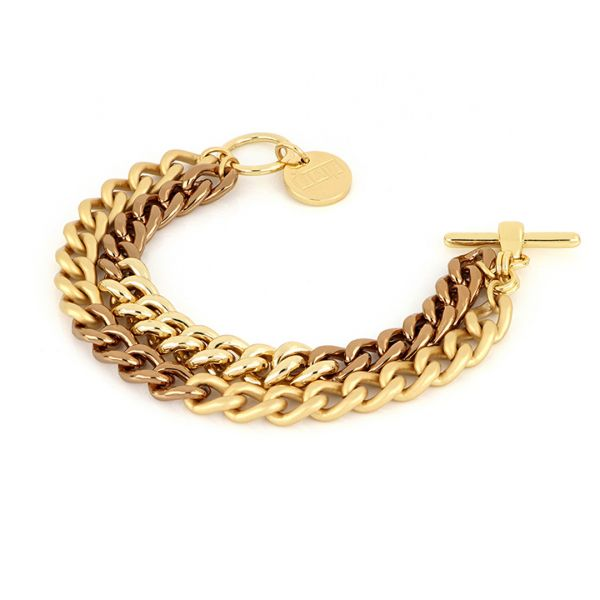Chocolate bronze bracelets