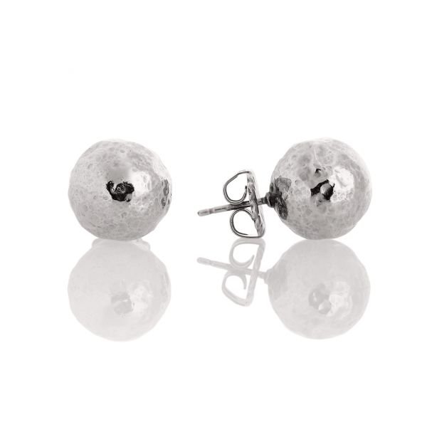 Orecchini in argento bianco