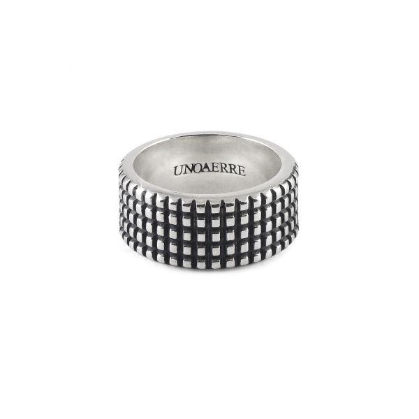 Natural silver rings
