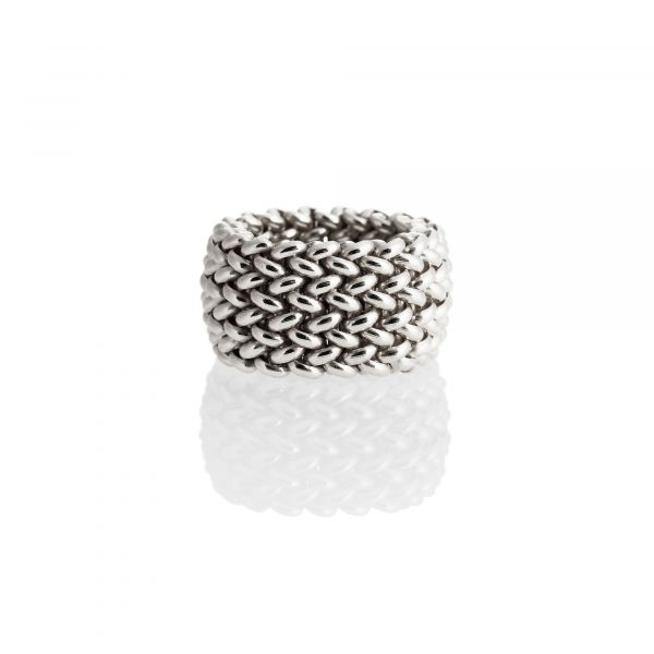 Sterling silver ring Chicco