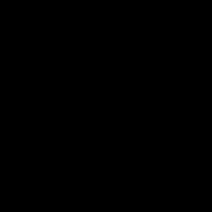 Orecchini mini paper clip in argento bianco e zirconi