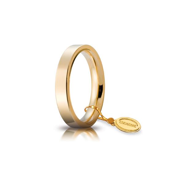 Fede Cerchi di Luce mm.3.5 in oro giallo