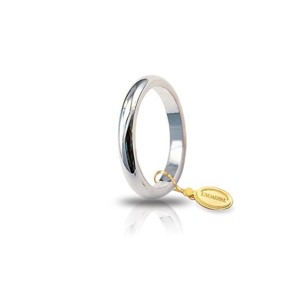 White gold wedding band