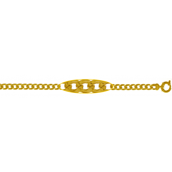 Yellow gold bracelets