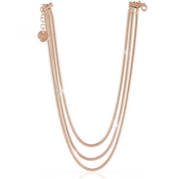 Collana in bronzo rosa