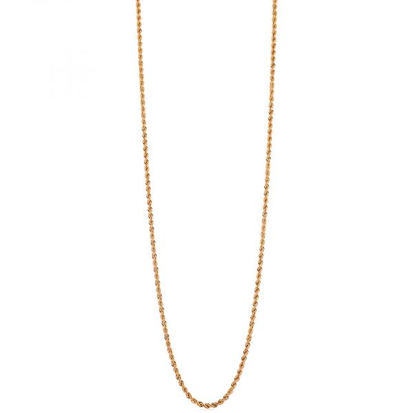 Collana in bronzo dorato