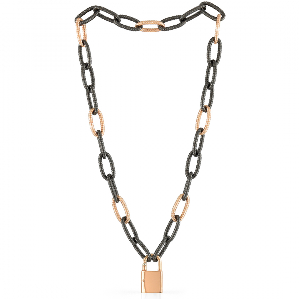 Black bronze necklaces