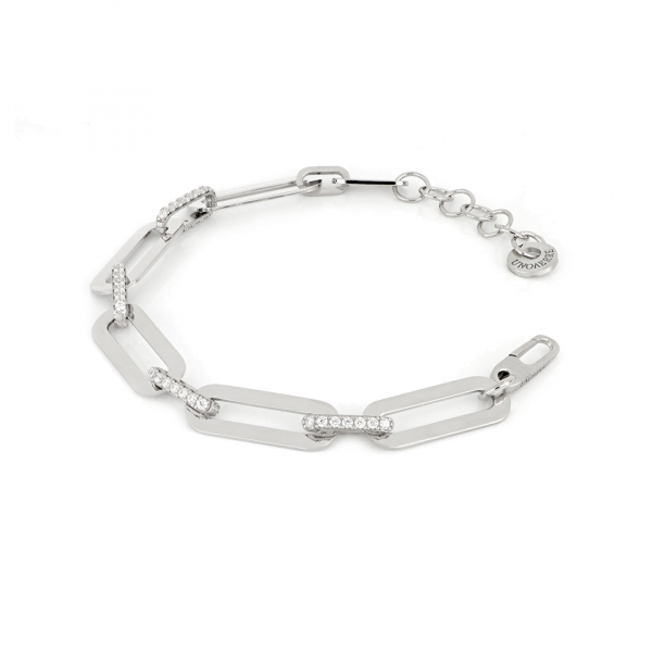 White silver bracelet