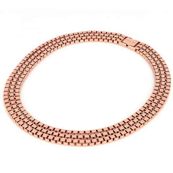Red bronze Veneziana necklace