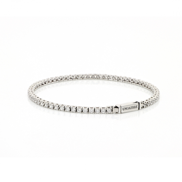 White silver Tennis bracelet